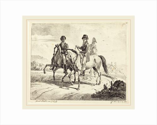 Outing on Horseback, 1811 by Johann Adam Klein