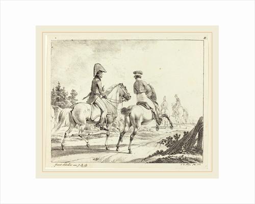 Erlangen Students on Horseback, 1811 by Johann Adam Klein