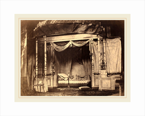 Bedroom display in the Paris Universal Exposition of 1855, 1855 by Félix Jacques Antoine Moulin