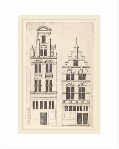 Dutch Facade Elevation: pl. 5, c. 1642 by Vignola and anonymous engraver