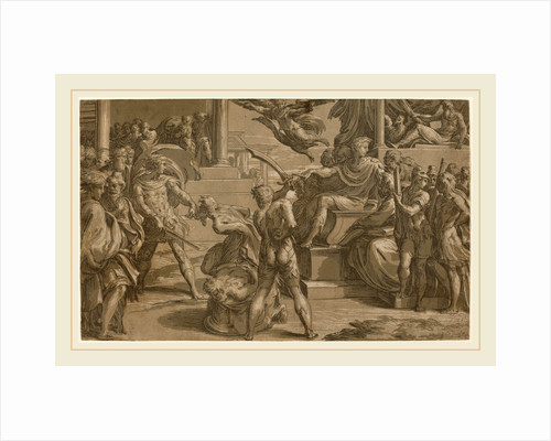 The Martyrdom of Two Saints recto, c. 1530 by Antonio da Trento