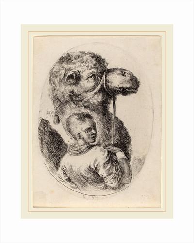 Groom with a Camel, 1649 by Stefano Della Bella