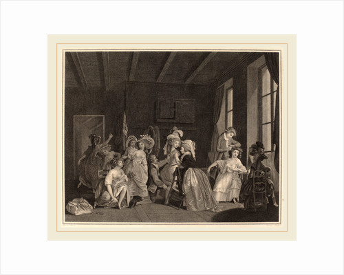 The Preparations for the Ballet, 1782 by Salvatore Tresca