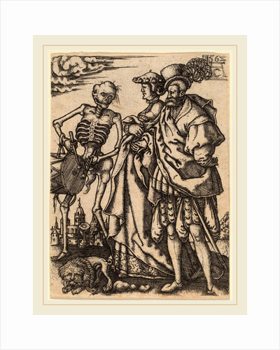 Death with a Couple, 1562 by Allaert Claesz