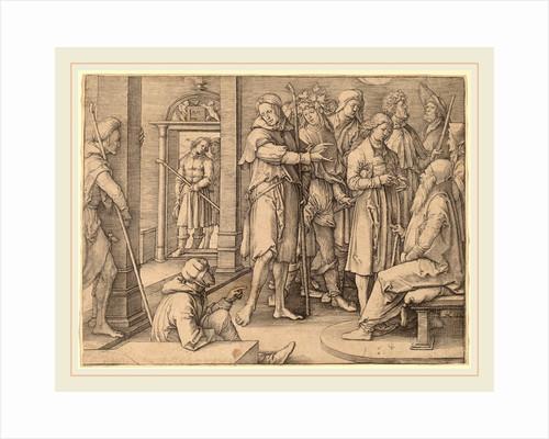 Joseph Interprets His Dream to Jacob, 1512 by Lucas van Leyden