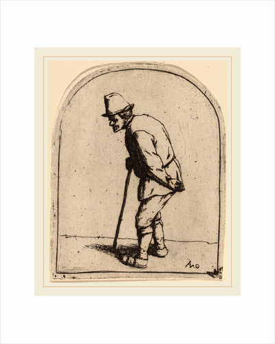 Peasant with a Crooked Back, probably 1675 by Adriaen van Ostade