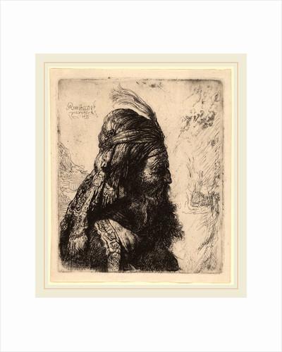 The Third Oriental Head, 1635 by Rembrandt van Rijn and Studio of Rembrandt van Rijn