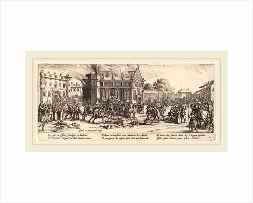 Destruction of a Convent by Gerrit van Schagen