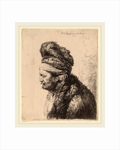 The Second Oriental Head, c. 1635 by Rembrandt van Rijn and Studio of Rembrandt van Rijn