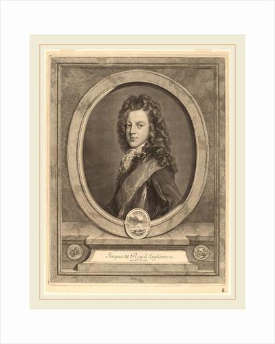James III, Prince of Wales by Gerard Edelinck