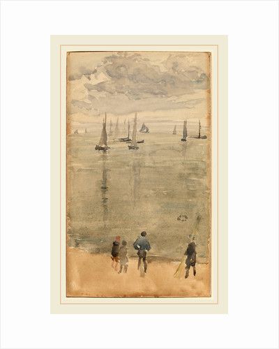 Violet Note?The Return of the Fishing Boats by James McNeill Whistler