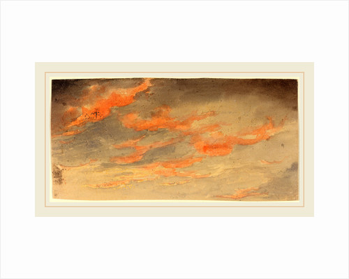 Clouds at Sunset by James Hamilton Shegogue