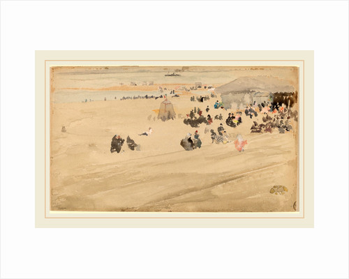 Beach Scene by James McNeill Whistler