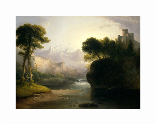 Fanciful Landscape by Thomas Doughty
