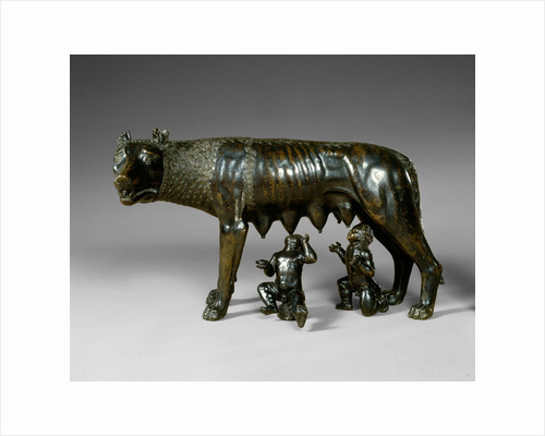 The Capitoline Wolf Suckling Romulus and Remus, late 15th-early 16th century by Anonymous