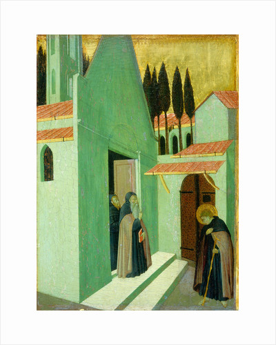 Saint Anthony Leaving His Monastery by Master of the Osservanza
