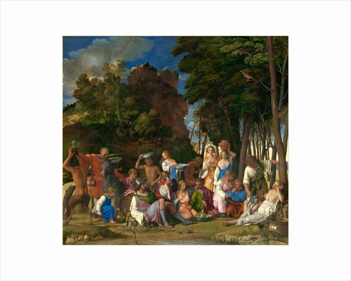 Italian, The Feast of the Gods by Giovanni Bellini and Titian
