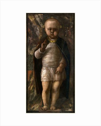 Italian, The Infant Savior, c. 1460, tempera on canvas by Andrea Mantegna