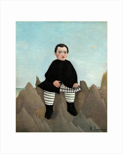Boy on the Rocks by Henri Rousseau