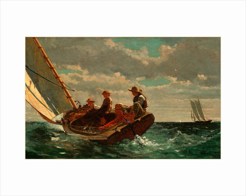 American, Breezing Up by Winslow Homer