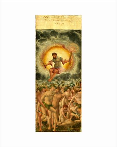 The Rule of Mars right panel, c. 1535, oil on hardboard transferred from panel by Workshop of Albrecht Altdorfer
