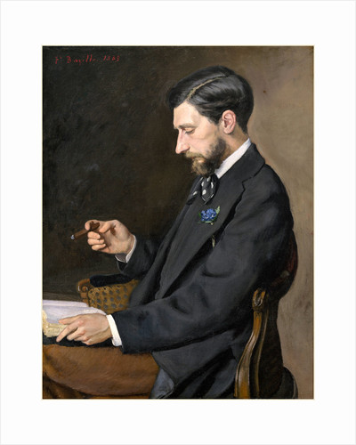 Edmond Maître, 1869 by Frédéric Bazille
