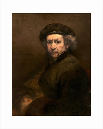 Dutch, Self-Portrait, 1659 by Rembrandt van Rijn