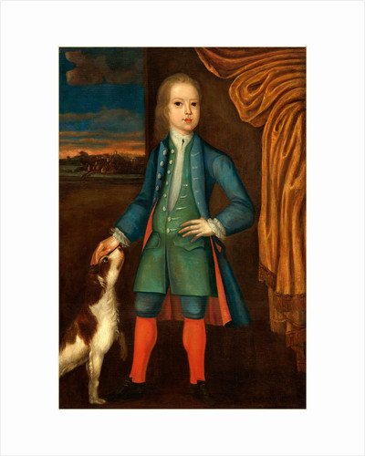 Boy in Blue Coat, c. 1730 by Anonymous