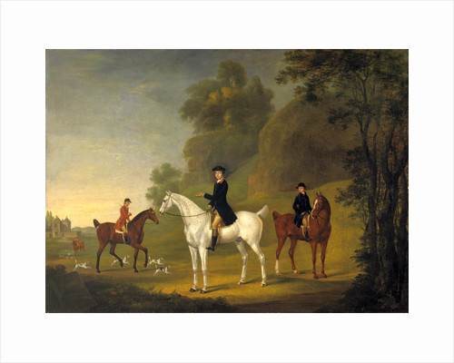 Lord Bulkeley and his Harriers, his Huntsman John Wells and Whipper-In R. Jennings Lord Bulkeley and his Hunt Servants by Thomas Stringer