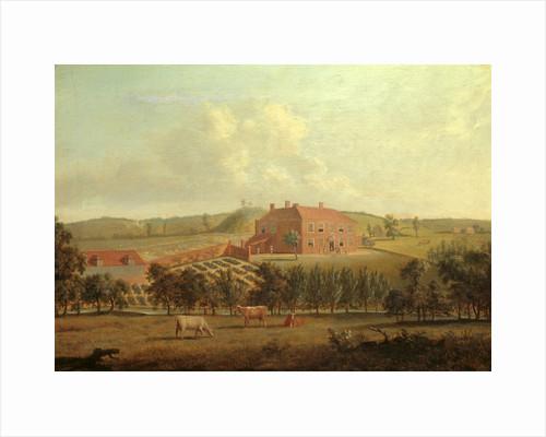 Saint Vincents, near West Malling, Kent Saint Vincent, Kent, the Seat of Capt. William Locker by Dominic Serres