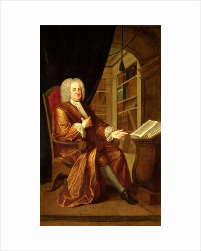 Benjamin Moreland, High Master of St. Paul's School by John Smibert