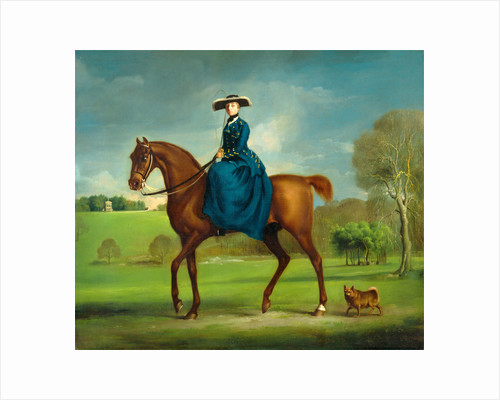 The Countess of Coningsby in the Costume of the Charlton Hunt by George Stubbs