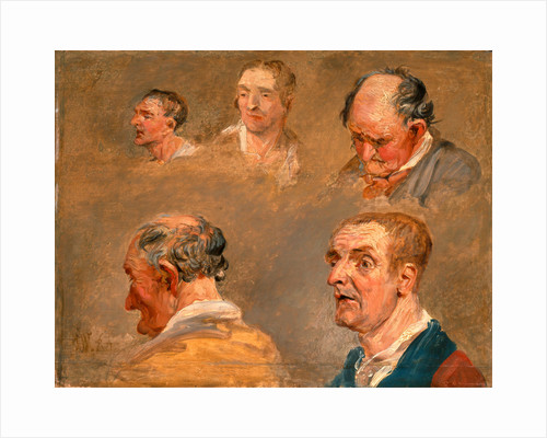 Studies of Jacky Turner and the Reverend Charles Hope's Gardener by James Ward