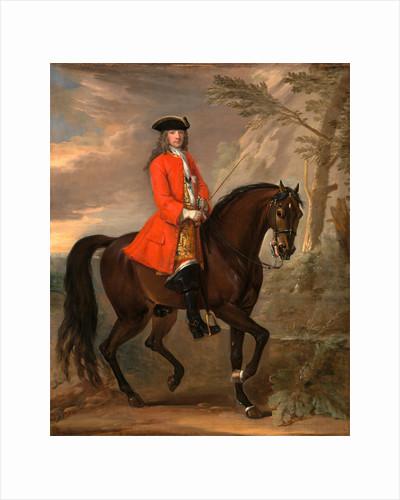 Portrait of a Man on Horseback An Unknown Man on Horseback by John Wootton