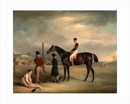 Euxton, with John White Up, at Heaton Park Buxton with John White by John Ferneley