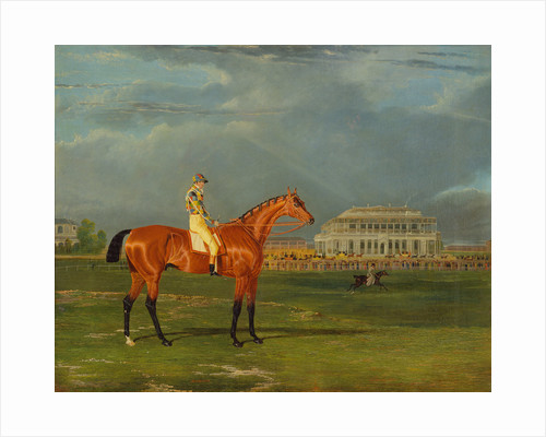 Memnon, with William Scott Up Memnon with William Scott Up on Doncaster Racecourse Memnon with W. Scott up, on Doncaster Racecourse by John Frederick Herring