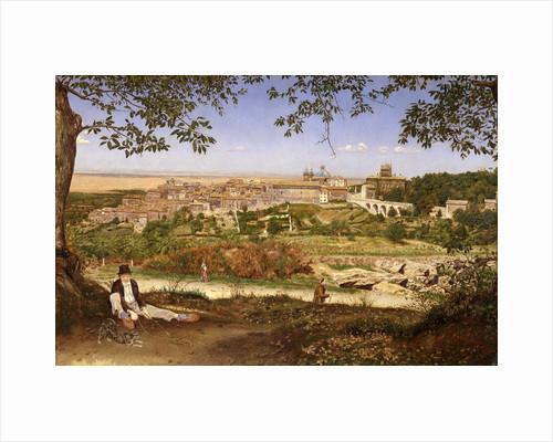 Ariccia, near Rome, Italy Ariccia, Italy by John William Inchbold