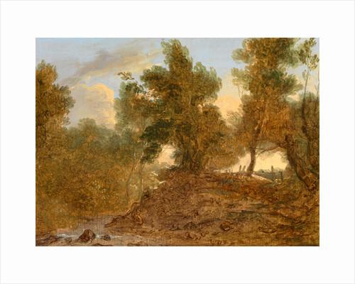 A Landscape at Wick, Gloucestershire, 'Below the Rocks' by Benjamin Barker
