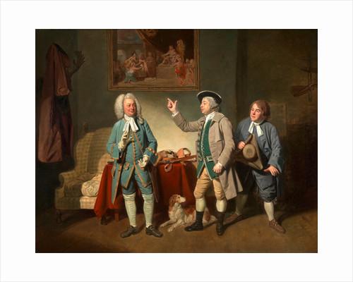 Edward Shuter, John Beard, and John Dunstall in Isaac Bickerton's 'Love in a Village' by Johan Joseph Zoffany