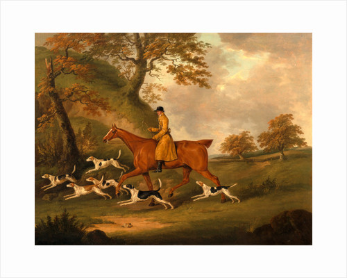 Huntsman and Hounds by John Nost Sartorius