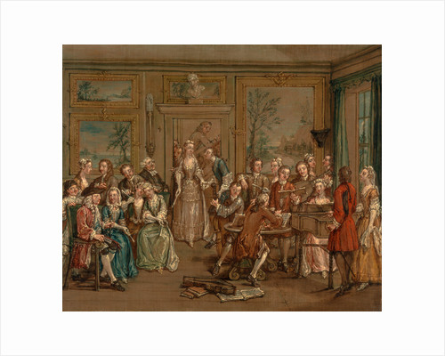 Musical Conversation A Musical Conversation (II) by Marcellus Laroon the Younger