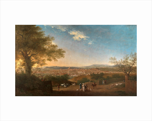 A Panoramic View of Florence from Bellosguardo Italy Firenze by Thomas Patch