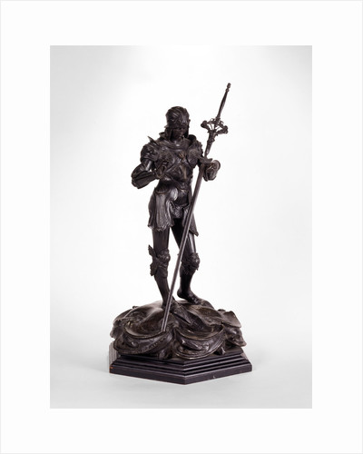 Sculpture, St. George Saint George by Alfred Gilbert
