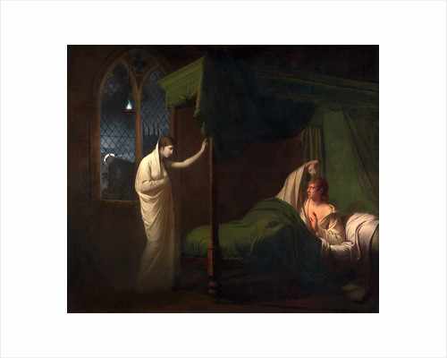 William and Margaret from Percy's 'Reliques of Ancient English Poetry' by Joseph Wright of Derby