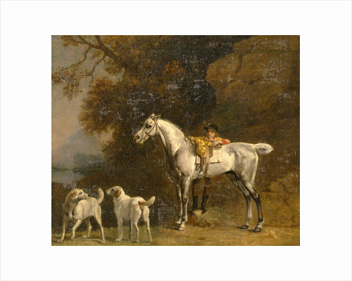 Studies for or after 'The 3rd Duke of Richmond with the Charleton Hunt' by George Stubbs