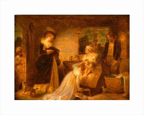 The Seven Ages of Man: The Infant, 'As You Like It,' II, vii by Robert Smirke