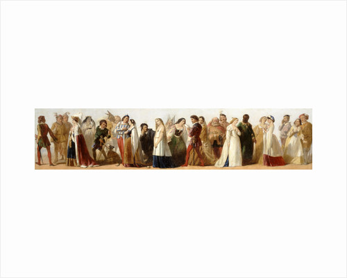 Procession of Characters from Shakespeare's Plays by Anonymous
