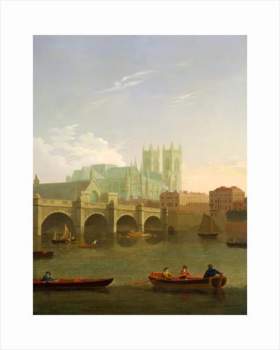 Westminster Abbey and Bridge by Joseph Farington