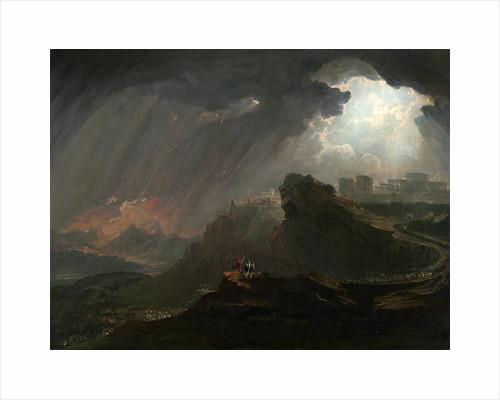 Joshua Commanding the Sun to Stand Still by John Martin