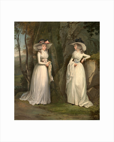 Eleanor and Margaret Ross by Alexander Nasmyth